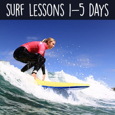 Surf Lessons with Sennen Surfing Centre